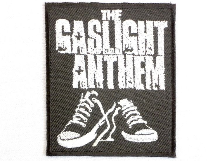 """The Gaslight Anthem Embroidered Iron On Badge Patch 2.9"""" (3.99 USD) by patchNbadge"""