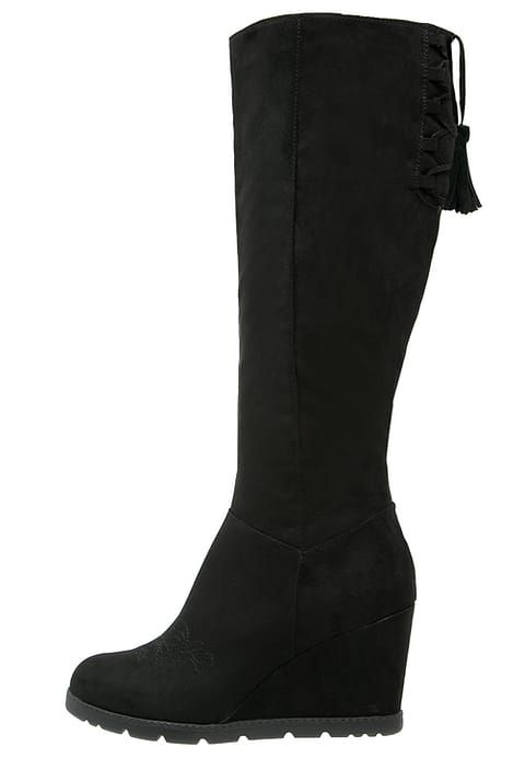 Chaussures Anna Field Bottes compensées - black noir: 60,00 € chez Zalando (au 31/12/16). Livraison et retours gratuits et service client gratuit au 0800 915 207.