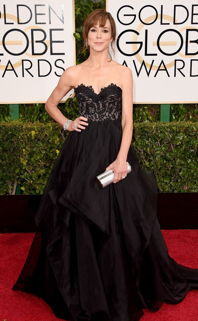 Frances O'Connor's lacy look for the Globes is so feminine and fun!