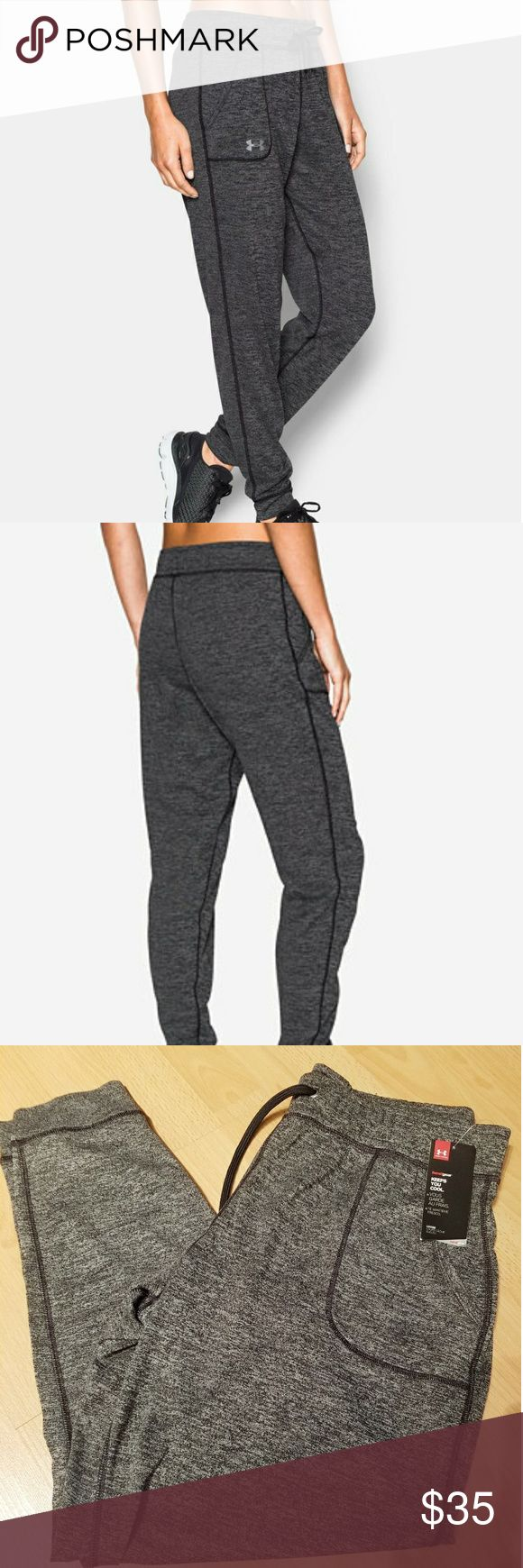 Under Armour Womens Twist Tech Gray Pants L Under Armour Womens Twist Tech Gray Pants Style #1269183-001   Size Large   Brand new with tags   Color - Heathered Gray   Super soft pants are comfortable and stylish all in one.   Thanks for looking! Under Armour Pants Track Pants & Joggers