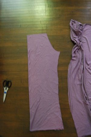 Making yoga waisted pants