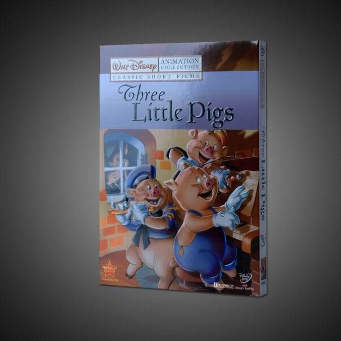 Three Little Pigs Disney DVD,Wholesale disney DVD,Disney DVD,Disney Movies,Disney  DVD Movies,wholesale disney movies,order disney dvd,buy disney dvd,hot selling disney dvd,cheap disney dvd,popular disney dvd,kids disney dvd,child disney dvd,baby disney,animation disney dvd,walt disney dvd,$2.8-3.8/set,free shipping (5-7days delivery).---come from China.
