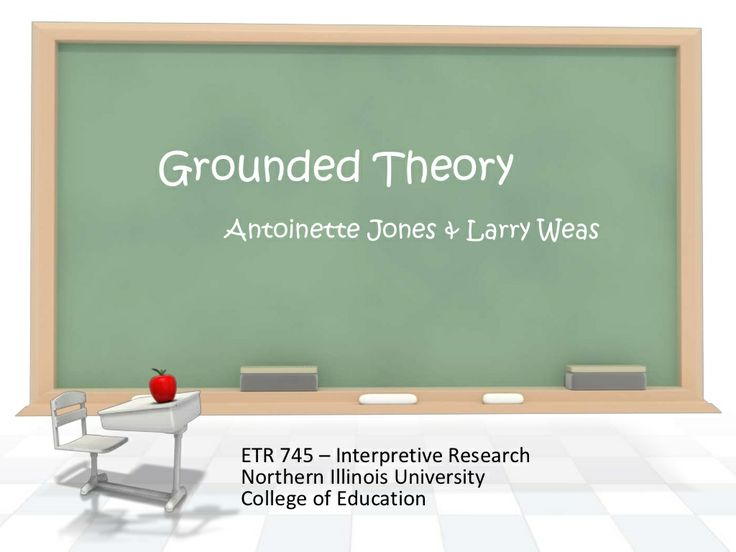 writing a grounded theory dissertation