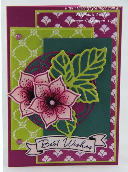 www.thecraftythinker.com.au, Sneak Peek, Eastern Beauty Bundle, In-Colours, #thecraftythinker, Stampin Up