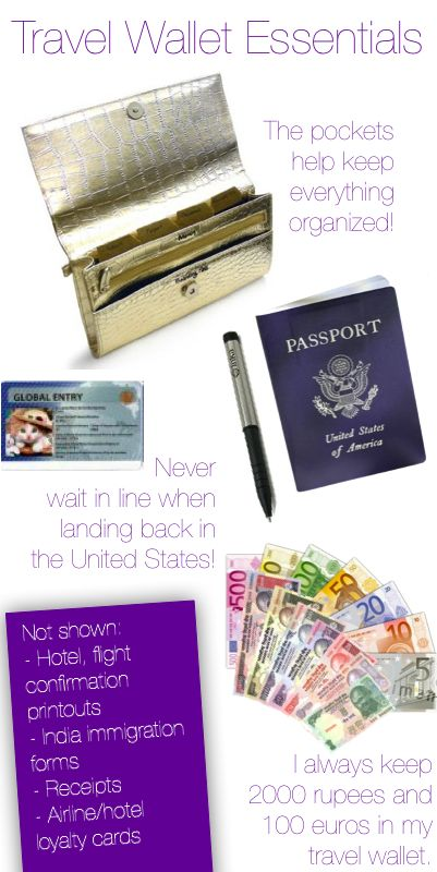 What to keep in your travel wallet: Signs, Accessories Travel, Wallets Traveltips, Gypsy Travel, Stuff Travel, Essential Travel, Traveltips Wallets, Things Travel, Travel Wallets