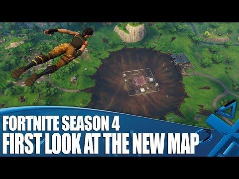 Fortnite Season 4 First Look At The New Map Dusty Divot Tech