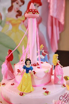 Mom Daughter Cakes Disney Princess Cake For 2 Years Old Girl