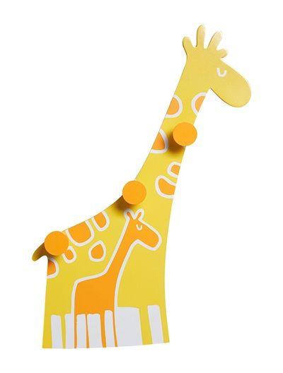 portemanteau girafes thme baby jungle jaune vertbaudet enfant