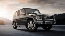 Merc Benz G Class!! Now the funny thing about this lux Jeep is that it doesn't look like it would be comfortable or luxurious at all from the outside. Looks CAN be deceiving!