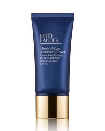 Double+Wear+Maximum+Cover+Camouflage+Makeup+for+Face+and+Body+SPF+15,+1.0+oz./+30+mL+by+Estee+Lauder+at+Neiman+Marcus. #camouflagemakeup
