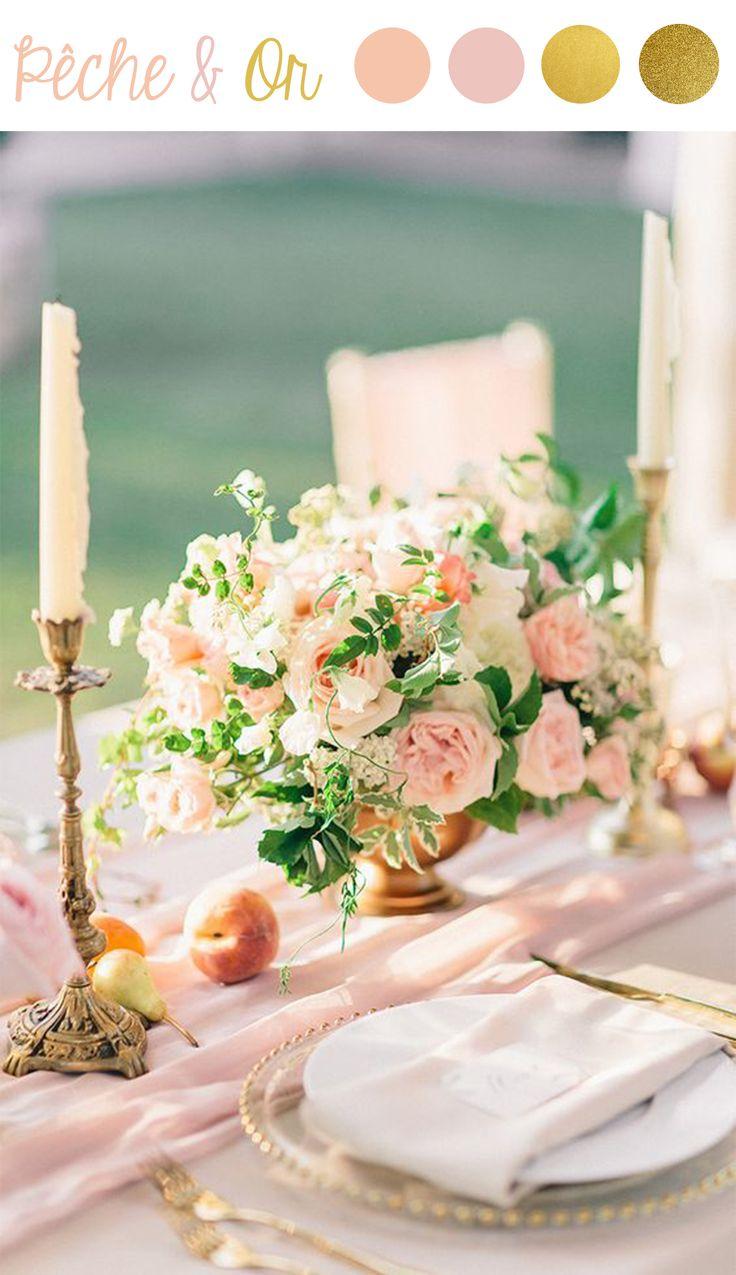 Les 25 meilleures id es concernant couleurs de mariage d 39 octobre sur pint - Tendance deco mariage ...