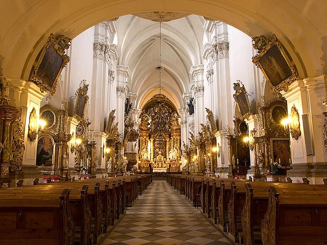 My church back in Poland