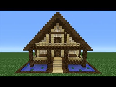 The 25 Best Minecraft Wooden House Ideas On Pinterest Minecraft