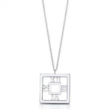 Tiny style, Tiffany Atlas Necklaces Tiffany Atlas Square Necklace TA13