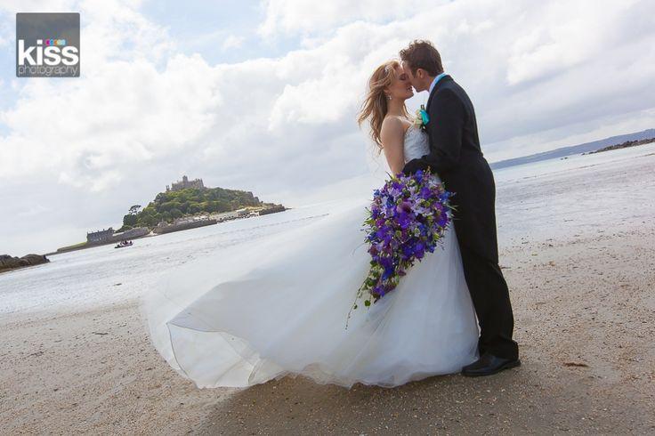 fantastic beach wedding-Cornwall
