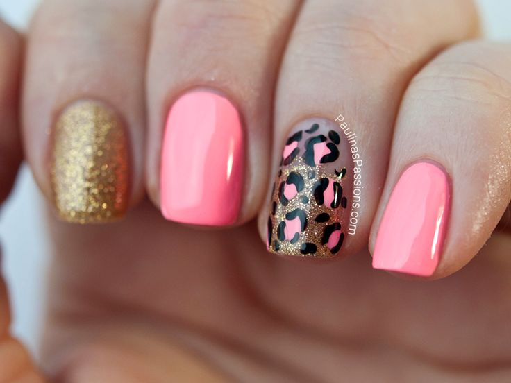 Best 25 pink leopard nails ideas on pinterest pink cheetah party nails pink leopard print nail art products used china glaze nail lacquer prinsesfo Choice Image