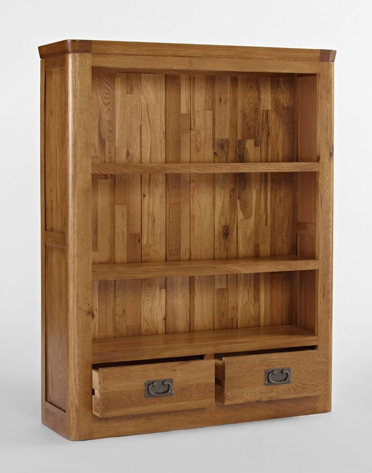 Knightsbridge Oak Small Bookcase