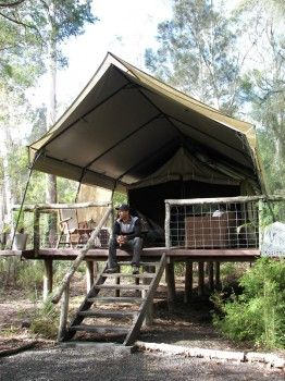 Excellent canvas glamping tents for glamorous camping on eBay! http://accordingtobrian.com/canvas_glamping_tents?=bigtents