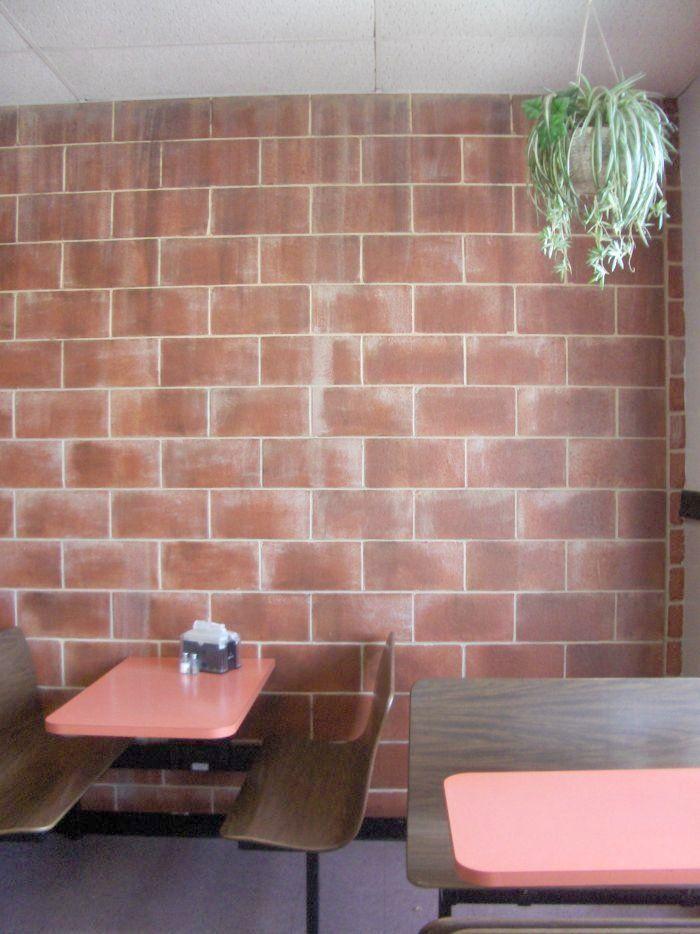 Painting Block Walls Interior Best 25 Decorating Cinder Block Walls Ideas On Pinterest Basement Mak Faux Brick Walls Cinder Block Walls Concrete Block Walls
