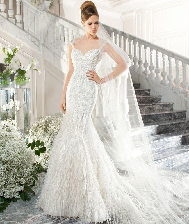 glamorous wedding dresses _ 2015 Demetrios Bridal collections STYLE C220