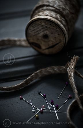 Strings and pins - still life