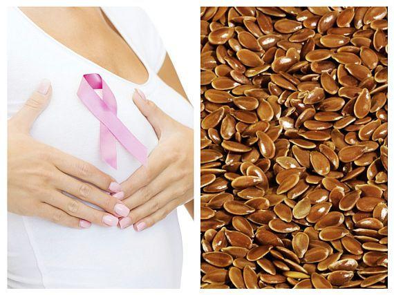 Semințele de IN mișcorează TUMORILE și previn CANCERUL de SÂN