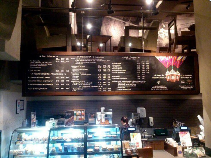Nuestros nuevos #vinilos para la tienda de Starbucks Francesc Maçià, en #Barcelona. ¿Qué os parece?