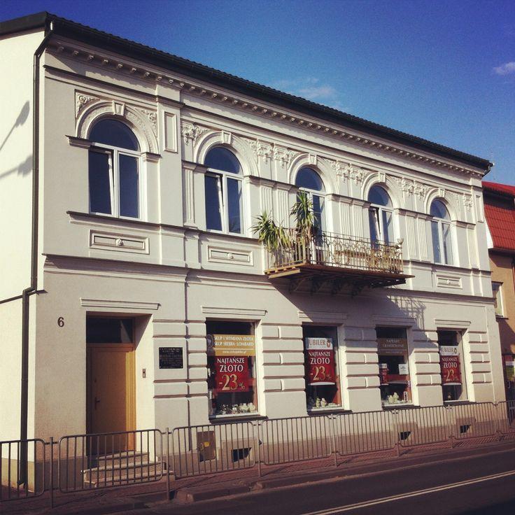 Łuków. Kamienica przy ulicy Wyszyńskiego.