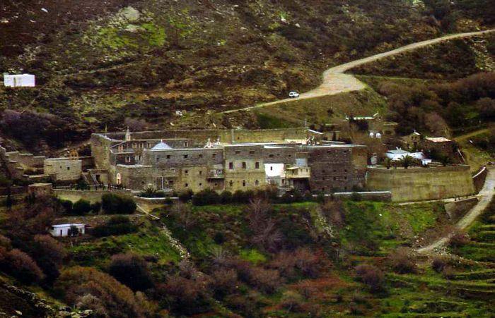 Agios Nikolaos Monastery Andros, Greece