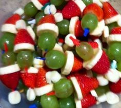 christmas themed hors d'oeuvres - Google Search