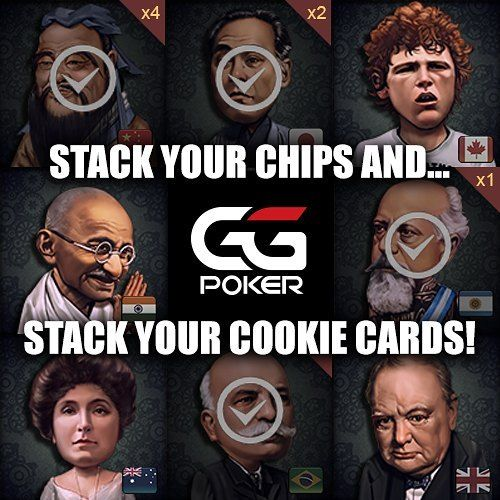 The wheel keeps spinning and you keep getting Cookie Cards? Don't fret these Cookie Cards can stack. Win 5 duplicates of the same card and unlock a special country avatar to represent you at the felt!  #fortunespin #wheel #spin #cookies #cookiefreerolls #cookiecards #fortunecookies #collection #cashbonus #nolimit #sitandgo #4x #8x #ggpoker #poker #pokerfans #pokergram #pokertime #irishpoker