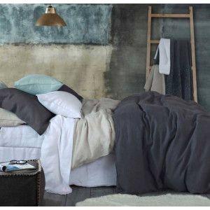 Laundered Linen Duvet Cover Sets by MM Linen