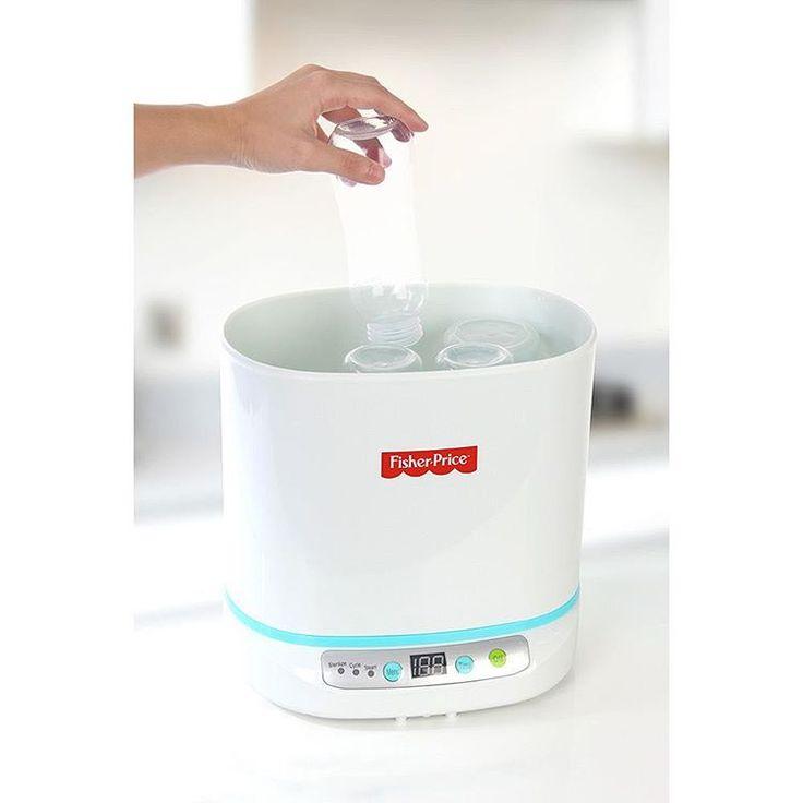 Esterilizador Digital de Mamadeiras e Acessórios R$349,90  Compre pelo site www.missybaby.com.br ou em nosso show room (end no perfil)