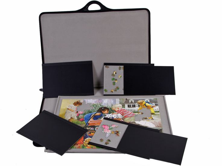 Jigsort-Jigsaw Puzzle Case, Carrier, Organizer, Holder and Caddy