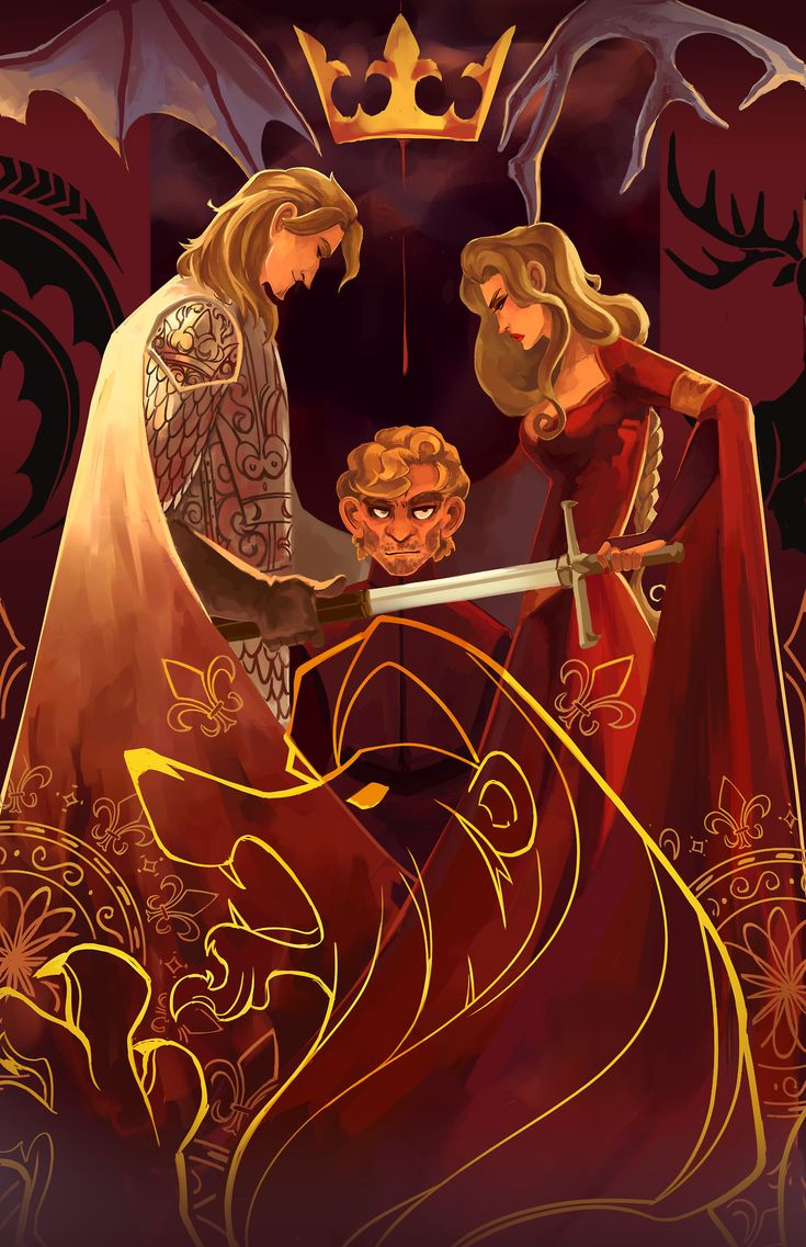 Doodle-Mon-Game-of-Thrones-Lannisters.jpg (1242×1920)