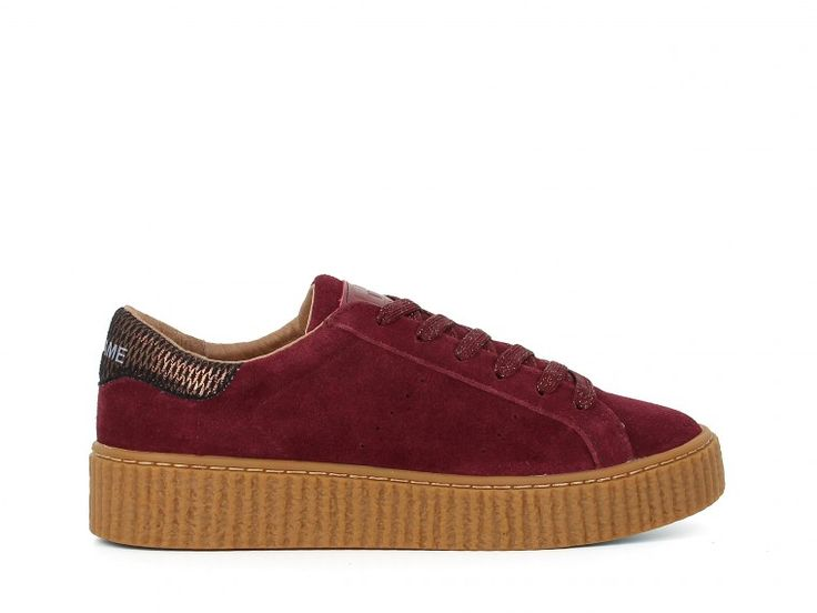 PICADILLY SNEAKER - SUEDE - BORDEAUX