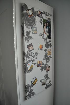 How To Cover And Hang Ikea Magnet Board With 3m Command