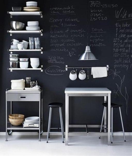 Меловая доска в интерьере - Дизайн интерьеров | Идеи вашего дома | Lodgers