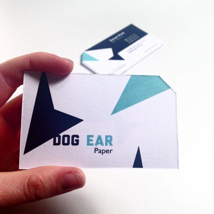 Close up of business card I designed for Dog Ear Paper #branding #businesscard #design #graphicdesign #brandingdesign #diecut #designlife #brand #turqouise #paper #personised #creative #brandingsuite #thoughtfuldesign #passion #designer #inspiration #inspire #geometric #shapes #geometricshapes #dog #dogear