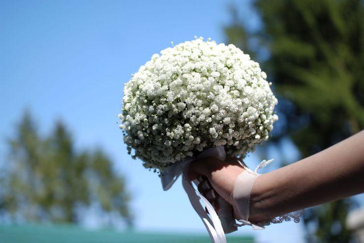 decoracao casamento gypsophila:Bouquet de gypsophila, Casamento and Buquês on Pinterest