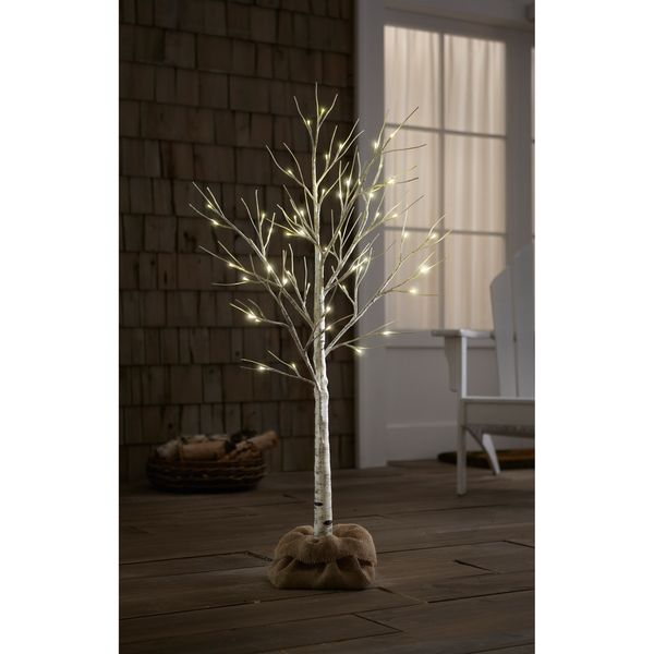 Order Home Collection Indoor/Outdoor 4ft LED Birch Tree