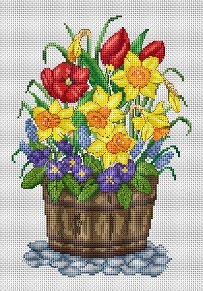 Amanda Gregory cross-stitch design