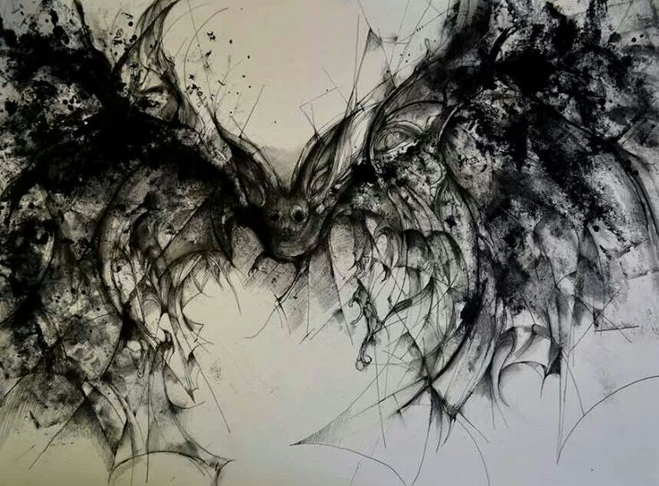 Vampire drawings in pencil