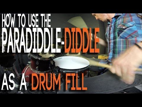 The Paradiddle-Diddle Drum Fill Chop (EASY) - YouTube