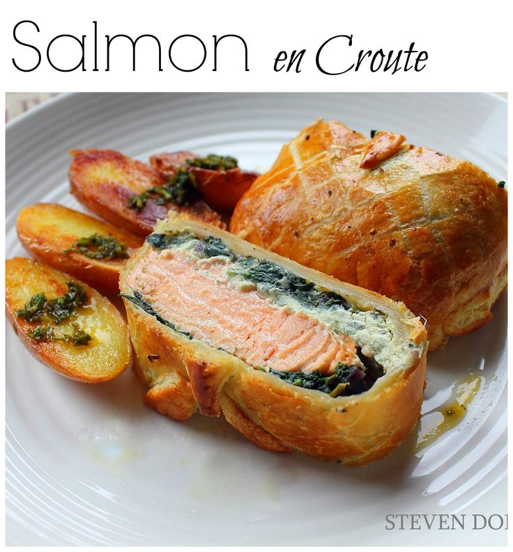 Try making this Salmon en Croute this weekend // #Salmon #EnCroute #Recipe