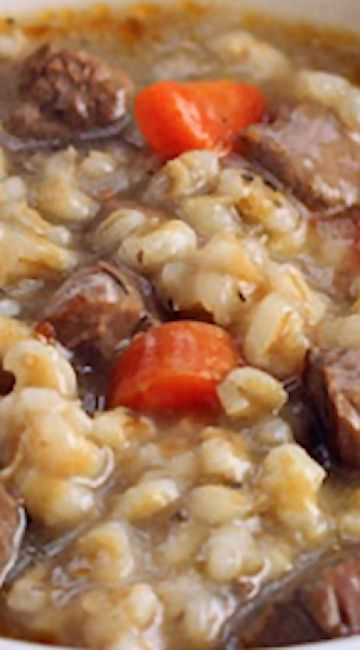 Beef Barley Soup (Pressure Cooker or Stove Top)