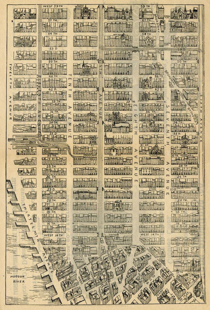 Best MapsNew York City Images On Pinterest - Nyc map lower manhattan