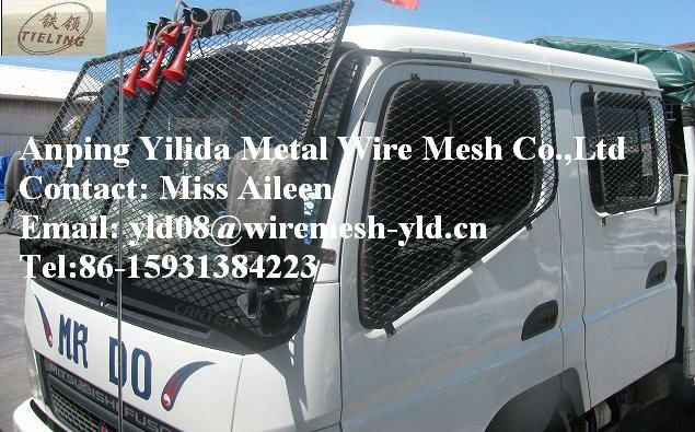 vehicle window mesh | Car Window Protective Expanded Metal Mesh Grille