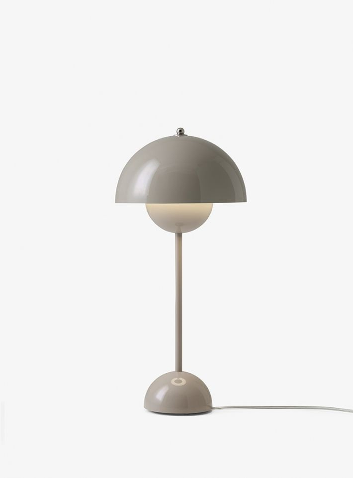Awesome Flowerpot table lamp by Verner Panton table lamp designer lamp desk lamp