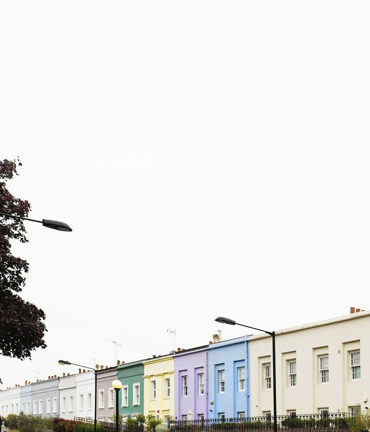 west london adventures with fiat | testing the perfect city car | travel | notting hill coloured houses